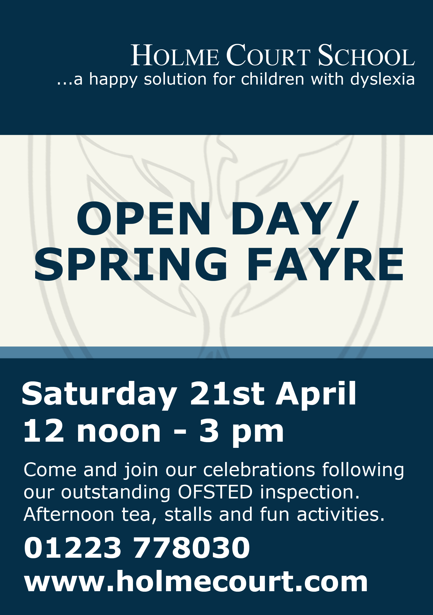 Openday flyer 21april-1